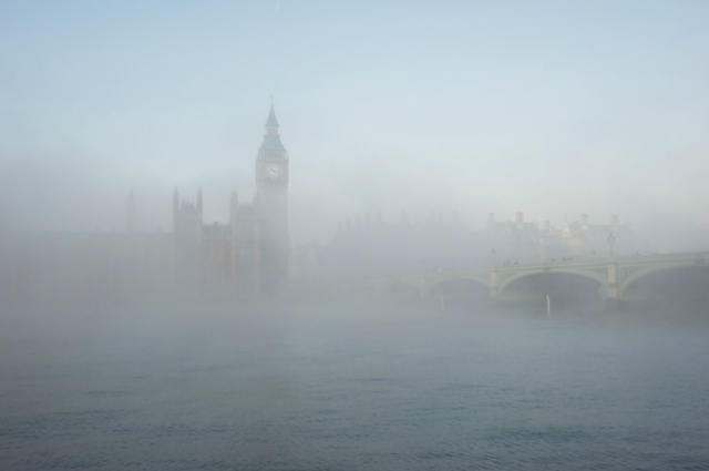 The Palace of Westminster. Photograph by Eleanor Bentall